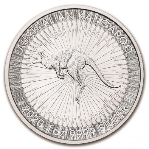 2020 Australia 1 oz Silver Kangaroo