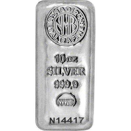 10 oz Nadir Silver bar